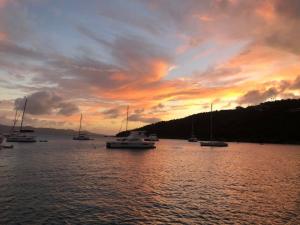 Sunset from Jost Van Dyke